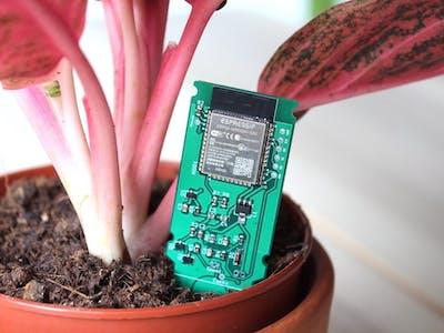 A WiFi Enabled Soil Moisture Sensor