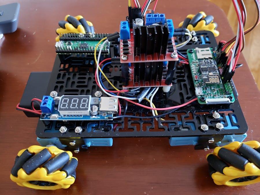 What Do I Build Next? A Pico-ATMegaZero BOT part 1 of 2