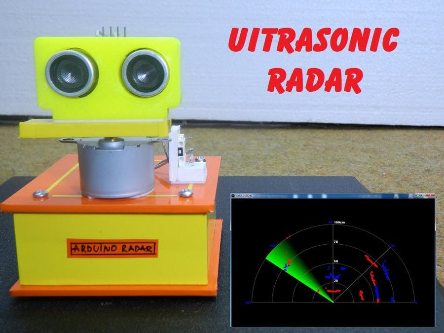 Ultrasonic Radar Can Detect Multiple Objects at Each Ping