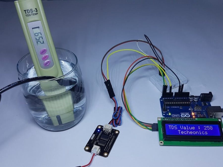 DFROBOT TDS Meter Sensor With Arduino and LCD || Measure...