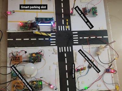 Real time Automated smart sensor city