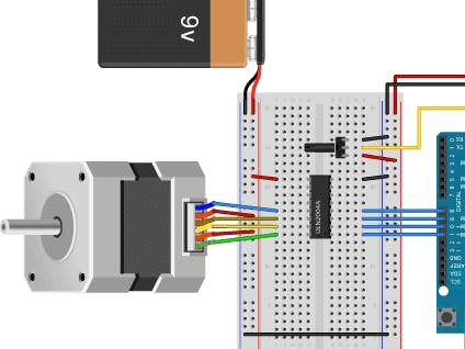 Using stepper motor with arduino