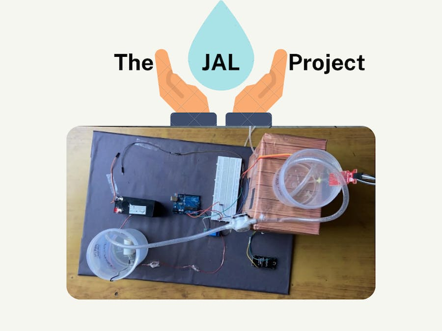 The JAL Project (Using Arduino, Node MCU, IoT & AWS)