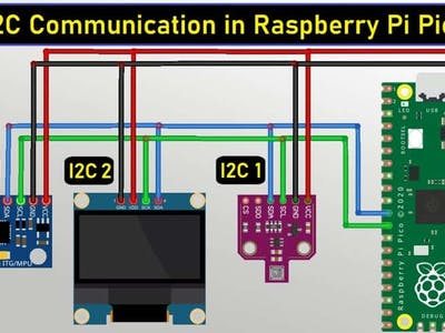 How to use I2C Pins in Raspberry Pi Pico   I2C Scanner Code