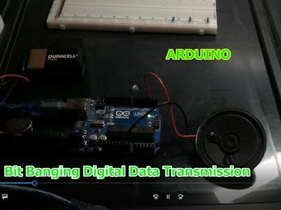Arduino Bit Banging PWM Data Transmission On Any Digital Pin