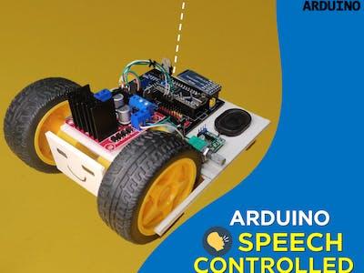 Speech Controlled Robot
