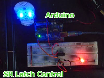 Control An SR Latch Digital Circuit With Arduino (Part I)