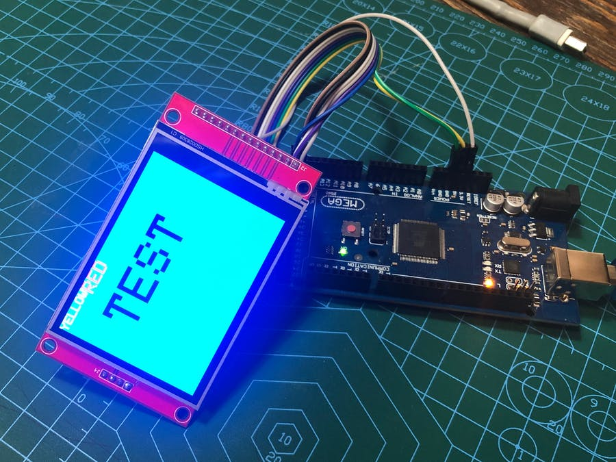 Tutorial for ILI9341 TFT LCD SD and Arduino MEGA (part 1)