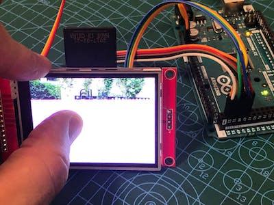 Tutorial for ILI9341 TFT LCD SD and Arduino MEGA (part 4)