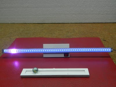 DIY Balancing Dot on LED Strip