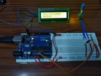 Analog to Digital Converter module of ATmega328P