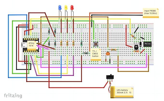 Main Schematic Diagram