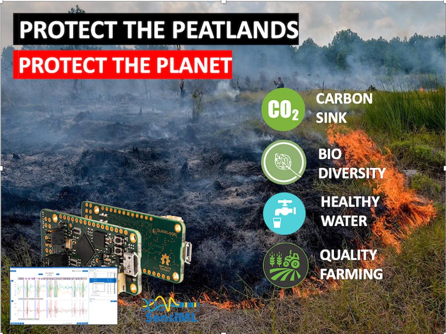 Protect Peatlands for people and planet with help of SensiML