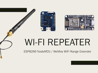 ESP8266 WiFi Repeater