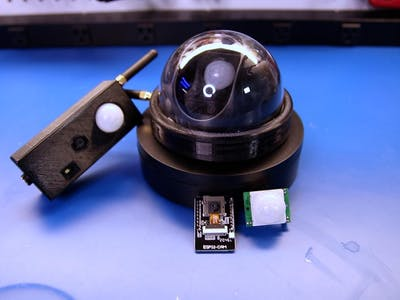 Discord Security Camera with an ESP32