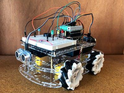 Arduino Omnidirectional Car