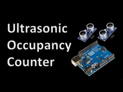 Ultrasonic occupancy counter