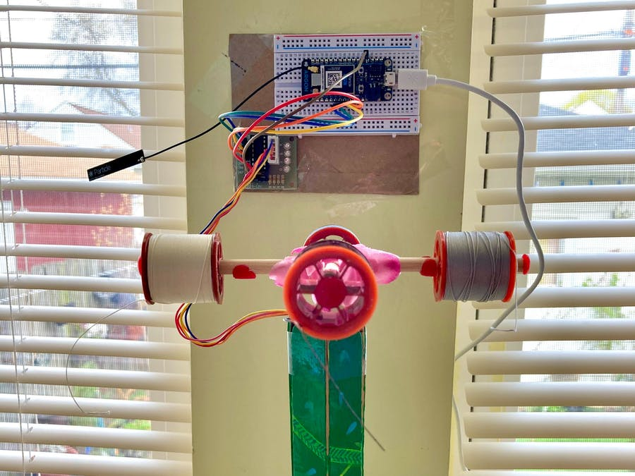 Lane Tech HS - Stepper Motor Spinning Spool Project