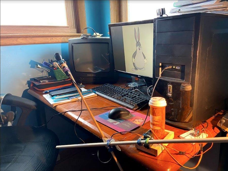 Remote Control Robotic Mic Stand