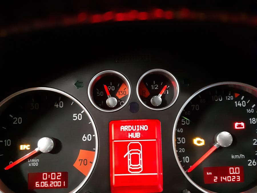 Digital Speedometer to Car's Instrument Cluster via CAN Bus