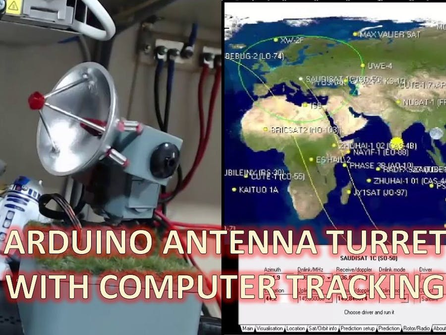 Antenna Turret Toy with Computer Tracking