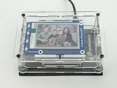 PhotoStax - Digital ePaper Photo Frame