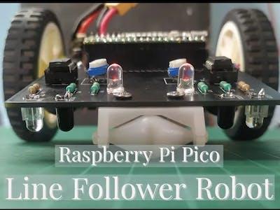 Line Follower Robot using Pico