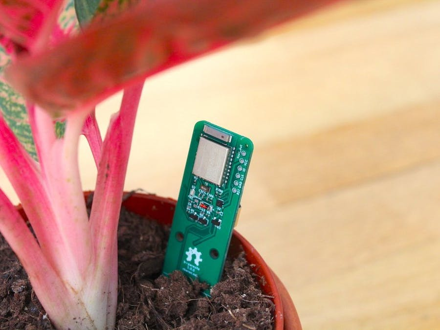 b-parasite - An Open Source BLE Soil Moisture Sensor