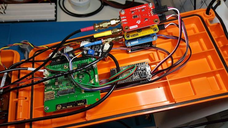 Lid Mounted Electronics