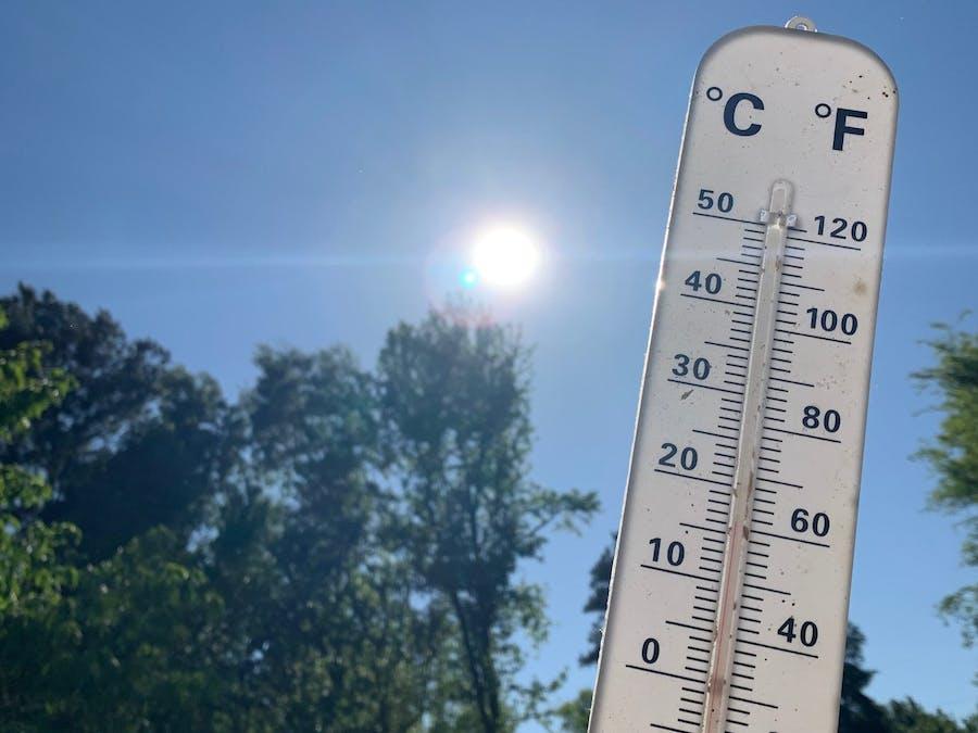 MEGR 3171 Portable Temperature and UV index