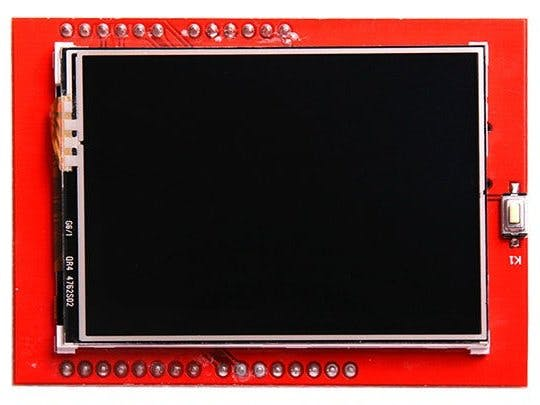 Arduino 2.4 tft display calculator
