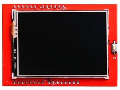 Arduino 2.4 TFT LCD display MENU