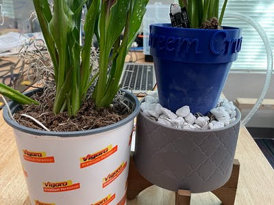Smart House Plant Watering System