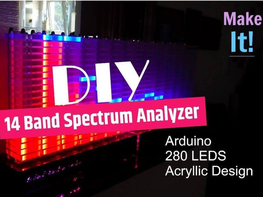 Giant Spectrum Analyzer