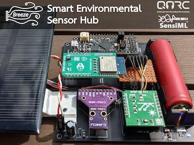 Breeze - Smart Environmental Sensor Hub