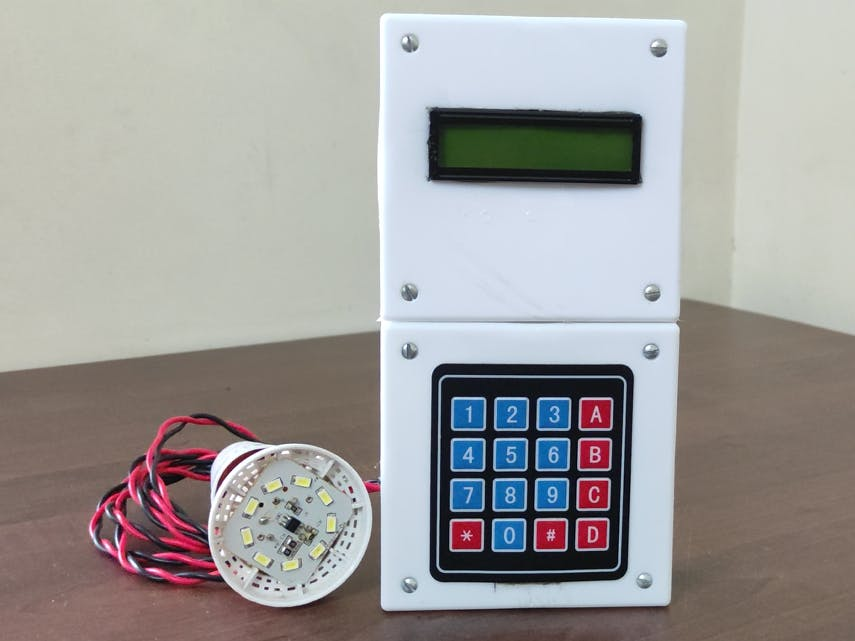 Arduino Password Protected Lock With 4*4 Keypad And Lcd