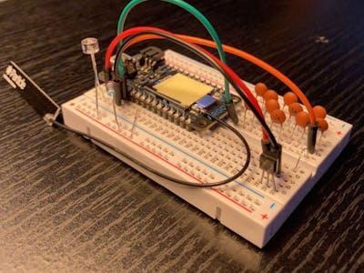 Group 21 MEGR 3171 Temperature sensor IOT Project