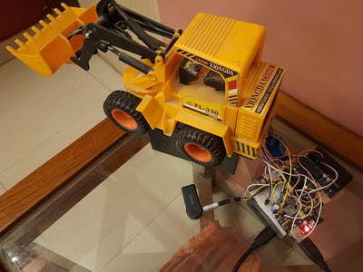 Bluetooth Controlled Bot