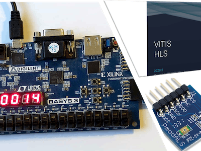 Light Sensor Controller in HLS