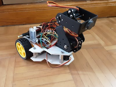 BCR (Bluetooth Controlled Robot)