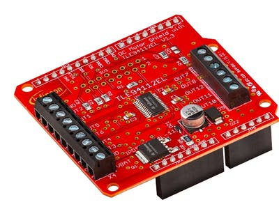 TLE94112 Multi-Half-Bridge - Control up to 12 Motors or LEDs