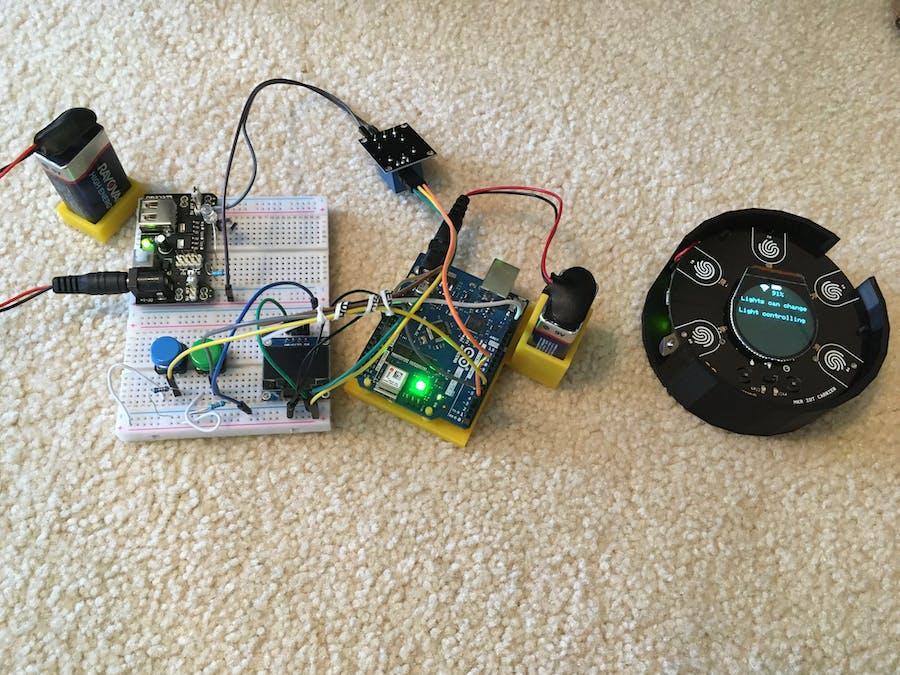 Arduino Light Controller Using MKR IoT Carrier