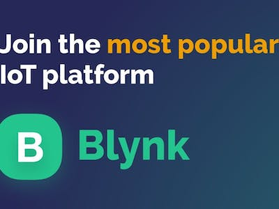 Blynk - creating a local server with a Raspberry Pi