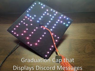 """""""Informative"""" Graduation Cap"""