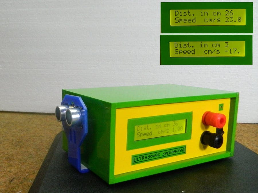 Speed Measurement Using HC-SR04 Ultrasonic Sensor