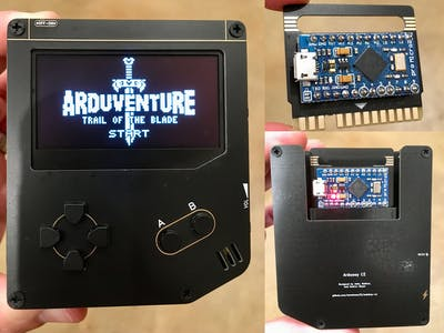 Arduboy CE (Cartridge Edition)