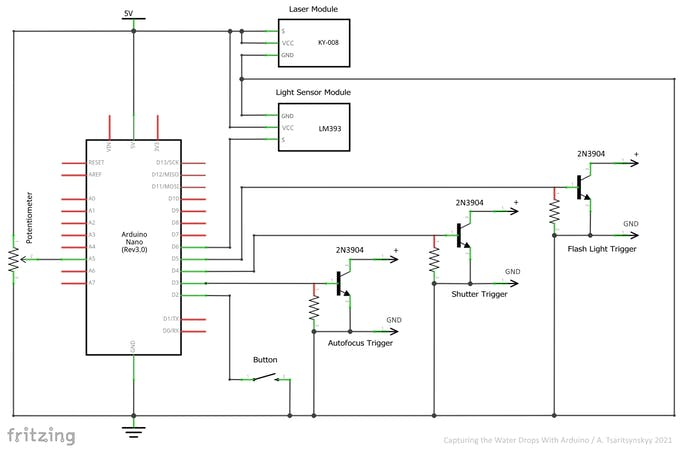 Fig. 7 – Circuit diagram