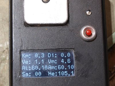 GPS Distance altitude and Speed Logger