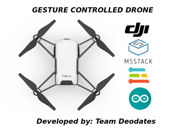 Gesture Controlled Drone with M5Stack and Edge Impulse