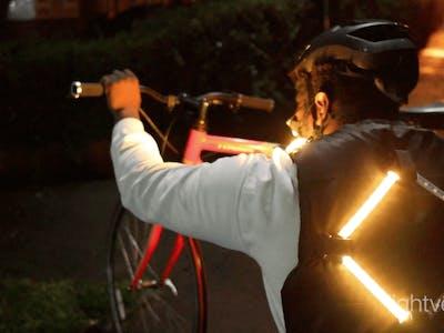 DIY Arduino Turn Signal Bike Safety Vest
